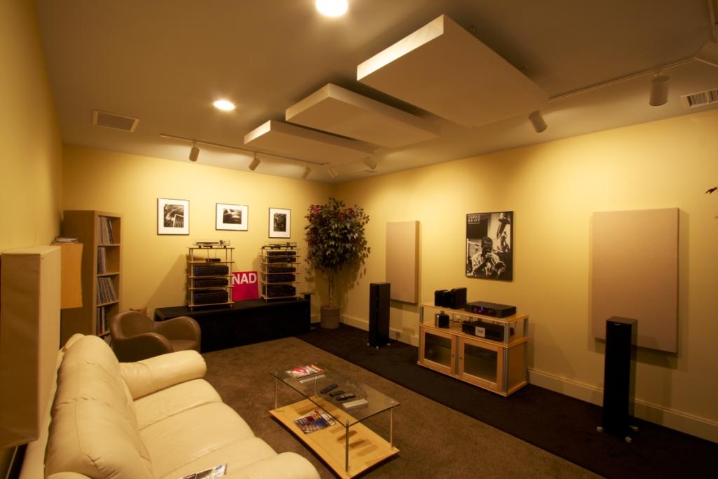 Overture Audio's Studio B Photo Credit: Larry Maciag, Fulcrum Design+Build, LLC