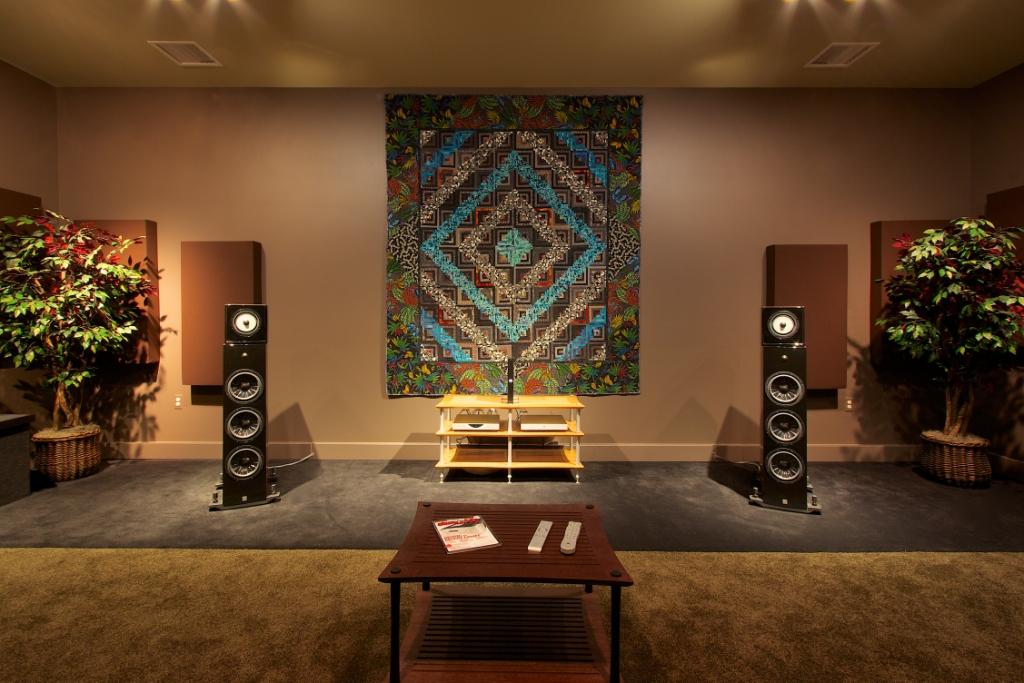 Overture Audio's Studio C Photo Credit: Larry Maciag, Fulcrum Design+Build, LLC