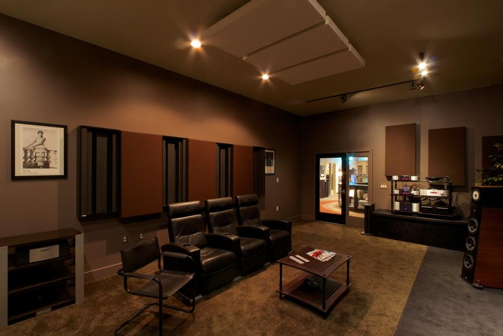 Overture Audio's Studio C Photo Credit: Larry Maciag, Fulcrum Design+Build, LLC.